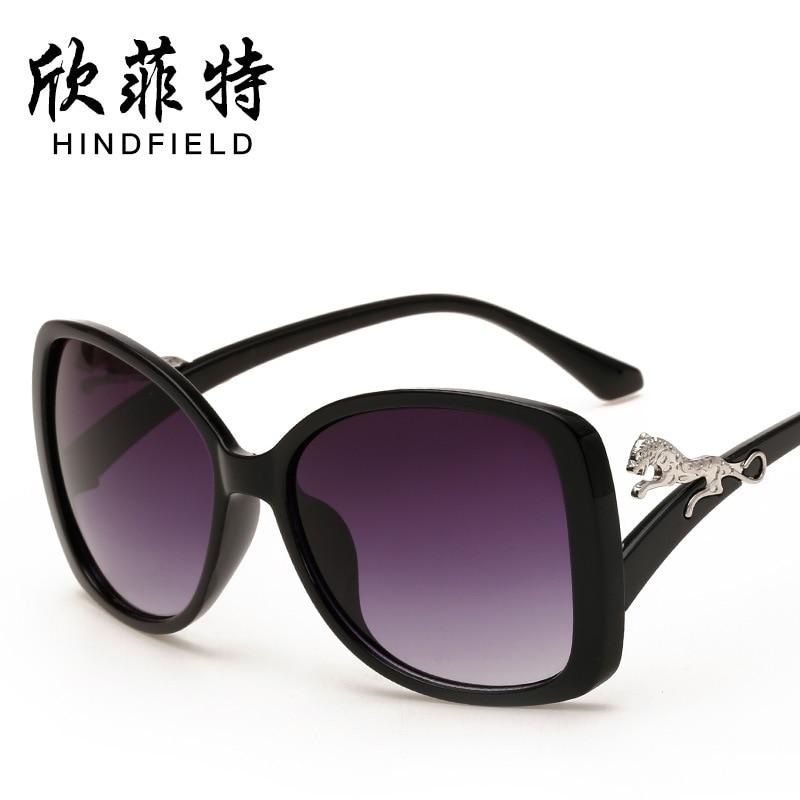 Gafas de sol grandes gafas de marco de gran tamaño Gafas de carey ...