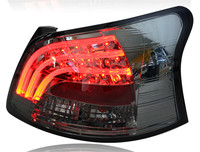 Free Shipping China VLAND Factory Led Taillight For Toyota Vios 2008 2012 Tail Lamp DRL Brake