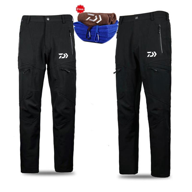 Fishing Clothing Plus Velvet Pants Winter Men Outdoor Keep Warm Fishing Clothing Jacket And Pants Suit For Fishing Jogging mens winter sea fishing clothes one piece suit floating life saving fishing clothing ykk zipper lifesaving whistle fly fishing