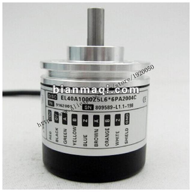 El significado de Seúl registro EL40A1000Z5L6 * 6PA2004C codificador óptico rotatorio 1000 pulsos
