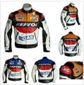 Free shipping REPSOL PU men's motorcycle jacket motorcycle racing jacket PU leather motorcycle jacket