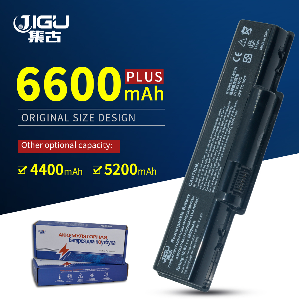 JIGU 6Cells Laptop Battery For <font><b>ACER</b></font> BT.00603.036 4520G 4710 4715Z 4720G 4730 4730Z <font><b>4736</b></font> 5235 5334 2930 4710 image