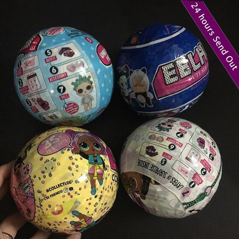 Confetti Pop Series Lol Dolls Random Dress Up Baby Tear Open Funny Dolls For Kids Sleeping Baby Lol Magic Ball Action Figure Toy