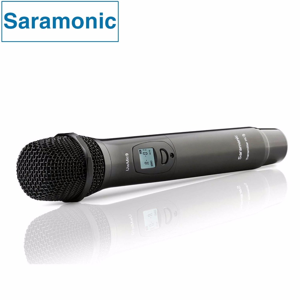 Saramonic HU9 96-Channel Digital UHF Wireless Handheld Vocal Microphone with Integrated Transmitter for UwMic9 System