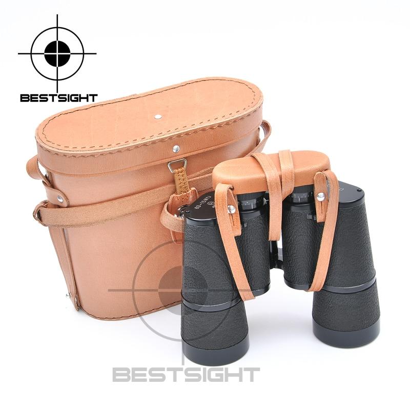 Military Binoculars 15X50 HD Telescope Outdoor Waterproof Hunting Binoculars Zoom With Leather Belt And Bag