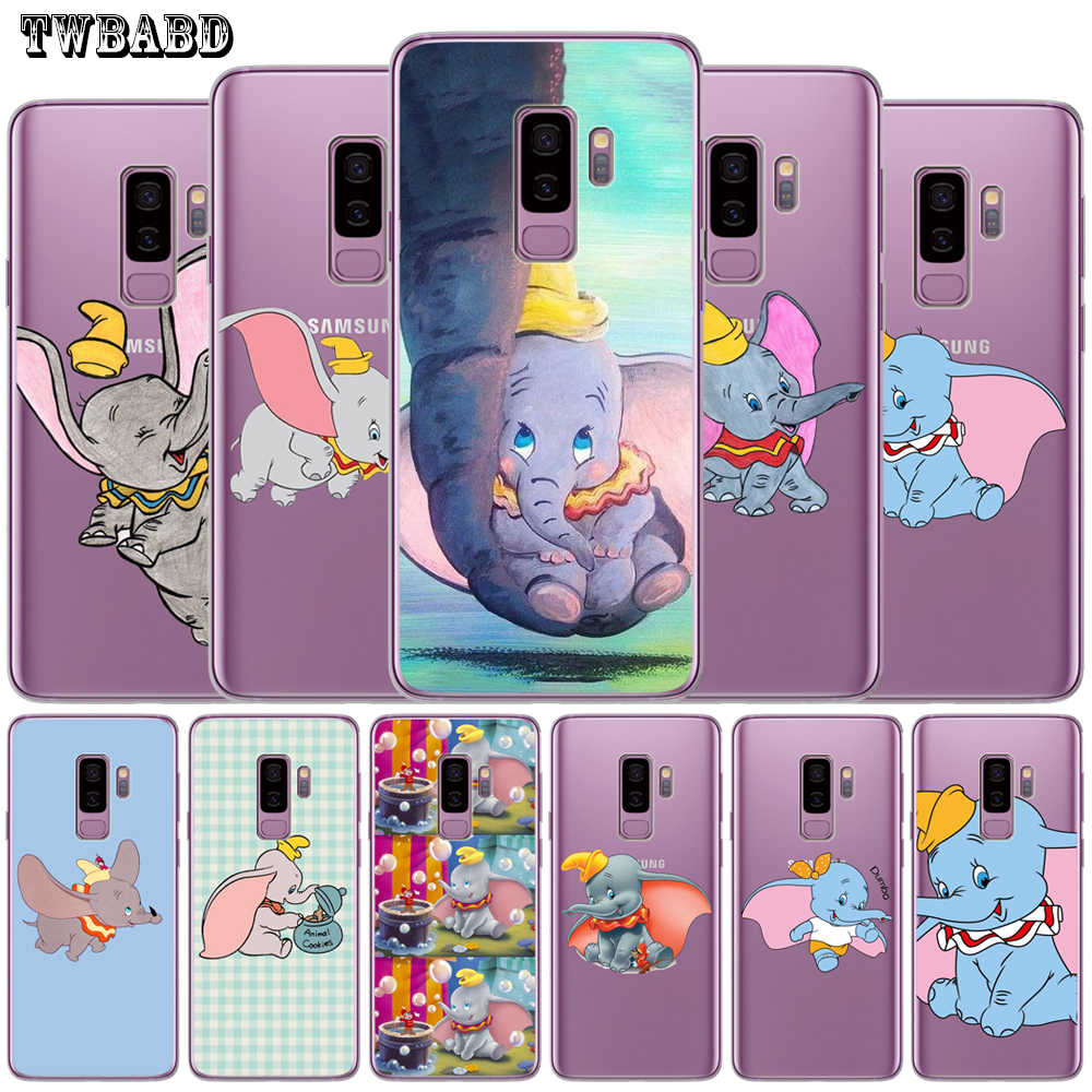 Dumbo luxury Phone Case For Cover Samsung Note 8 Note 9 S9 S8 S10 Plus S10 S9 Plus S8 Plus S7 S6 Edge S10E Cover Etui Capa
