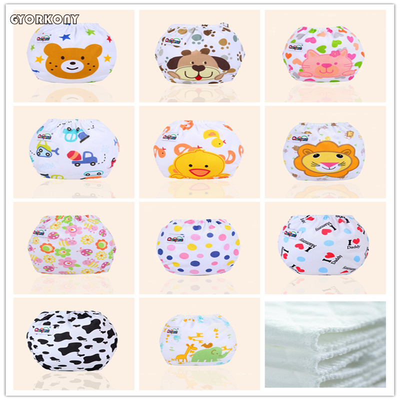Cloth Diapers Pocket Nappy Washable Baby Waterproof New 0-12M ZJ-A2358E