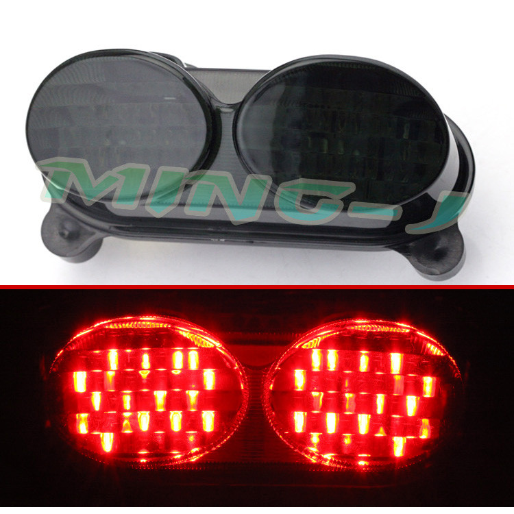 1998 1999 2000 2001 2002 2003 motorbike LED moto tail light for KAWASAKI ZX9R motorcycle rear indicator flashers brake light