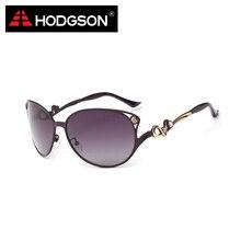HODGSON Brand Design Big Frame Female Polarized Sunglasses Women's Elegant Sun Glasses Eyewear Apparel Accessories 1055