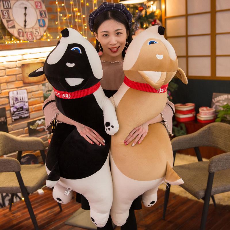 50 см милые тешатся собака плюшевая игрушка шиба ину игрушка высокое качество мягкие лояльные подушка для домашних животных Каваи щенок игрушки подарок для детей детские игрушки