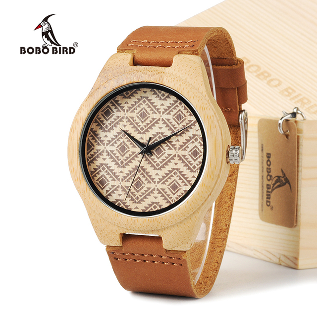 BOBO BIRD Wood Wristwatches for Lovers Japan Majoy Movement Men's Fashion Brand