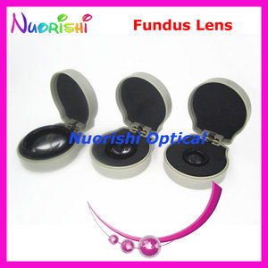 Image 5 - 90DM ほど良く volk レンズ! 眼科非球面眼底スリット ランプ連絡ガラス レンズ ハード プラスチック ケース詰め送料無料