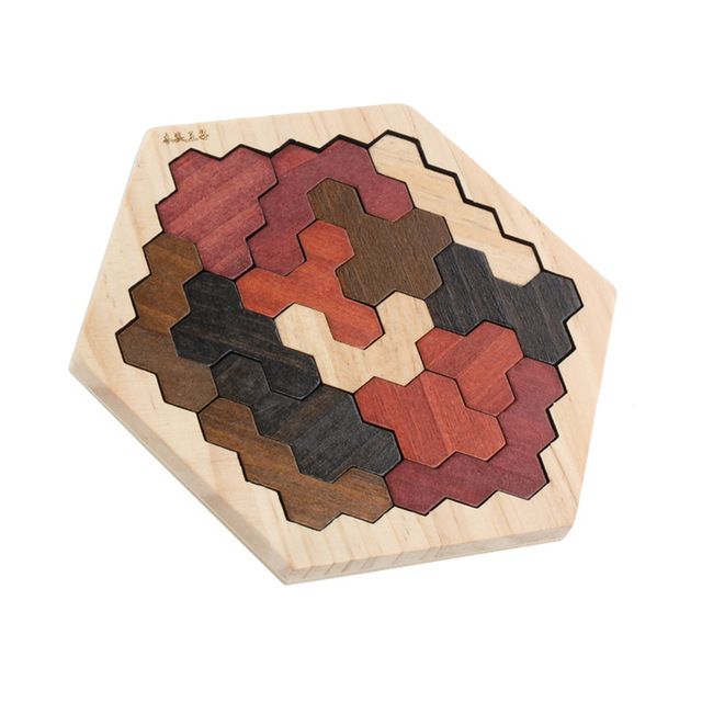 High Quality Wooden Fun Jigsaw Puzzle Baby Early Educational Toys for Children Intelligence Development Learning Toy Puzzles U01