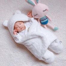 Newborn baby swaddle me wrap sleepping bag