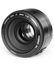 tamron objetivo gran angular yongnuo lens Acción lista! Original YONGNUO YN 50 mm / f1.8 estándar primer gran apertura enfoque automático AF / MF lente para Canon EOS DSLR cámara