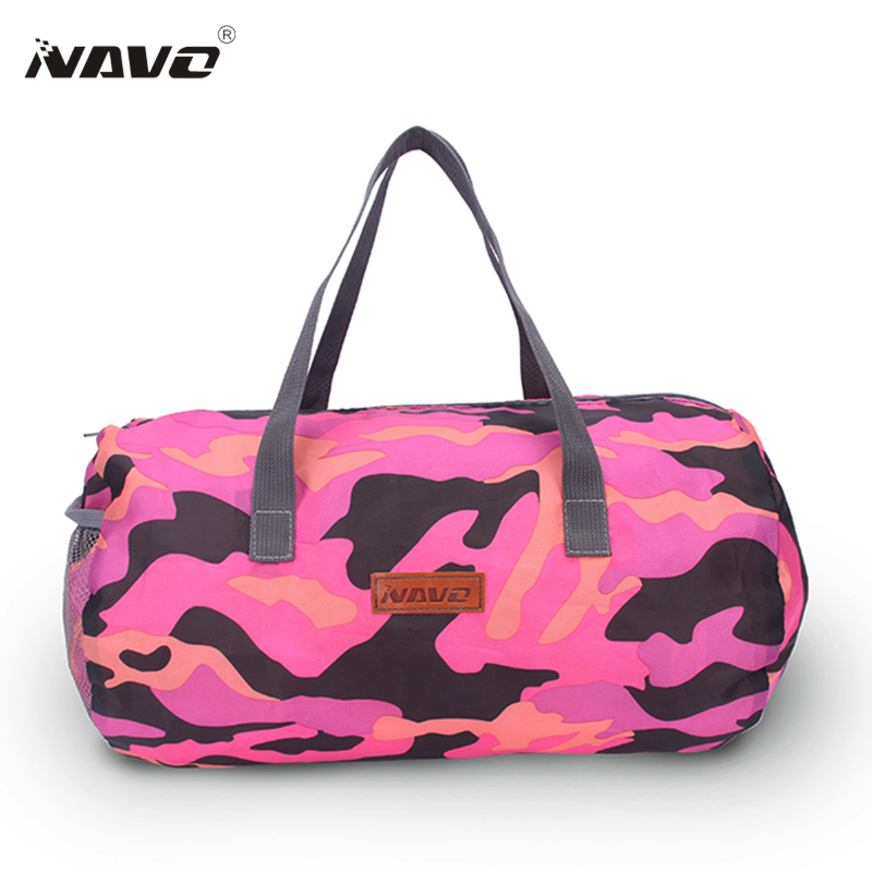 NAVO Foldable Travel Väskor för kvinnor Små Ryggsäckar Camoflage - Väskor för bagage och resor