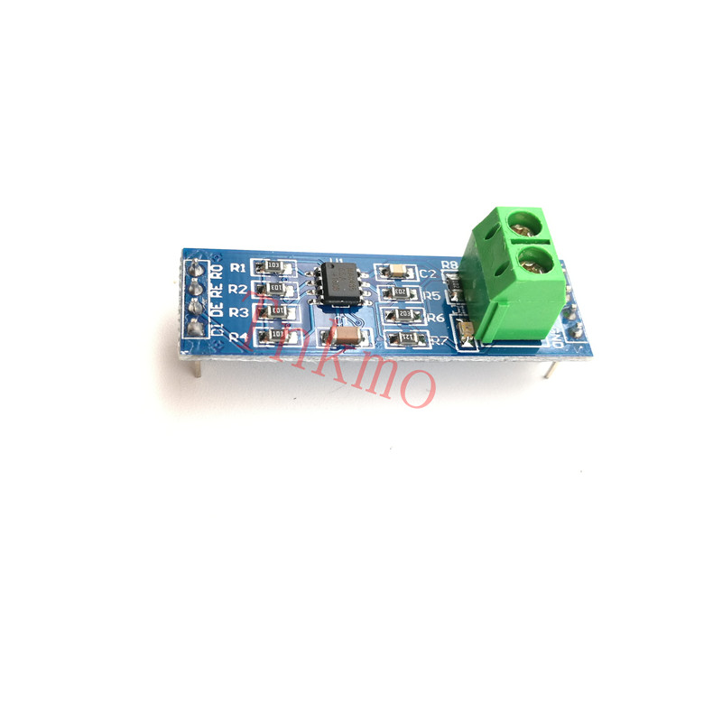 5PCS MAX485 Module RS-485 TTL Turn To RS485 MAX485CSA Converter Module For Arduino Microcontroller MCU Devel Diy Kit cp2102 usb to ttl stc promini download module for arduino