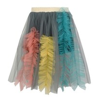 2019 Spring Summer Sally Pleated Skirt Girls Color skirt Kids Party Skirt Girls Tutu Sally Skirt 90 140cm Height