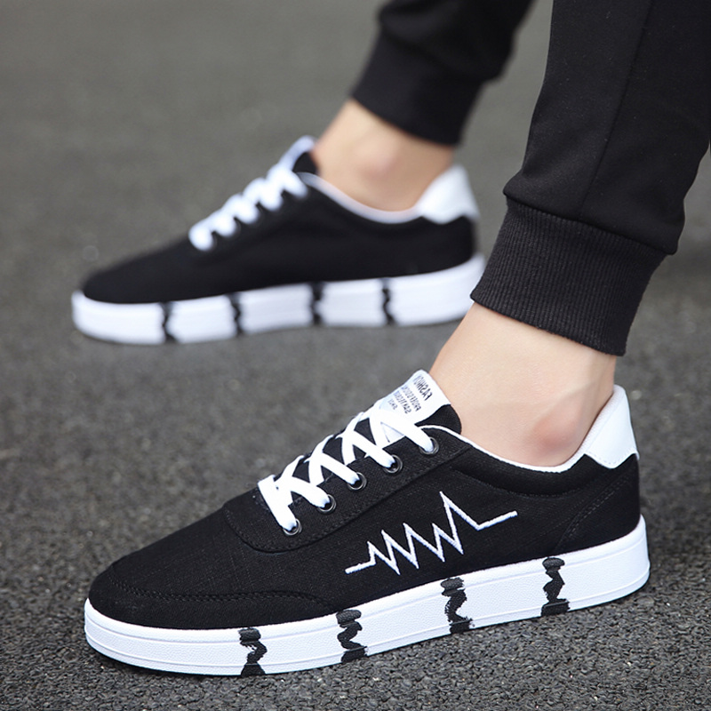 YeddaMavis Running Shoes Casual Sneakers Spring Autumn New Men Flats Canvas Lacing Breathable