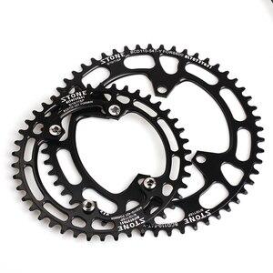Image 5 - Каменная круглая одинарная звезда BCD 110 мм BCD110 для дорожного велосипеда, складная звезда для велосипеда 105 5800 6800 Ultegra 4700 Tigra 9000
