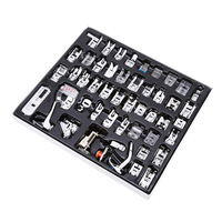 Domestic Sewing Machine Accessories 48pcs/set Presser Foot Feet Kit Set Hem Foot Spare Parts With Box For Brother Singer
