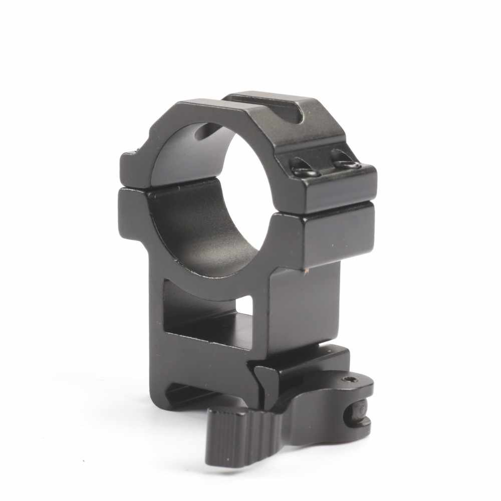 2 יח'\חבילה ציד Riflescope הר מהיר שחרור 30mm 25.4mm חבית היקף הר טבעת 20mm Picatinny רכבת מתאם הר para רובה