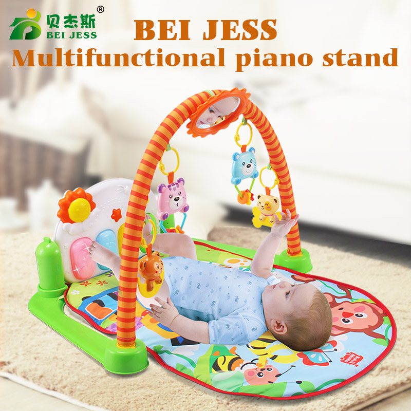 BEI JESS Months Baby Play Mat Game Crawling Carpet Kids gym