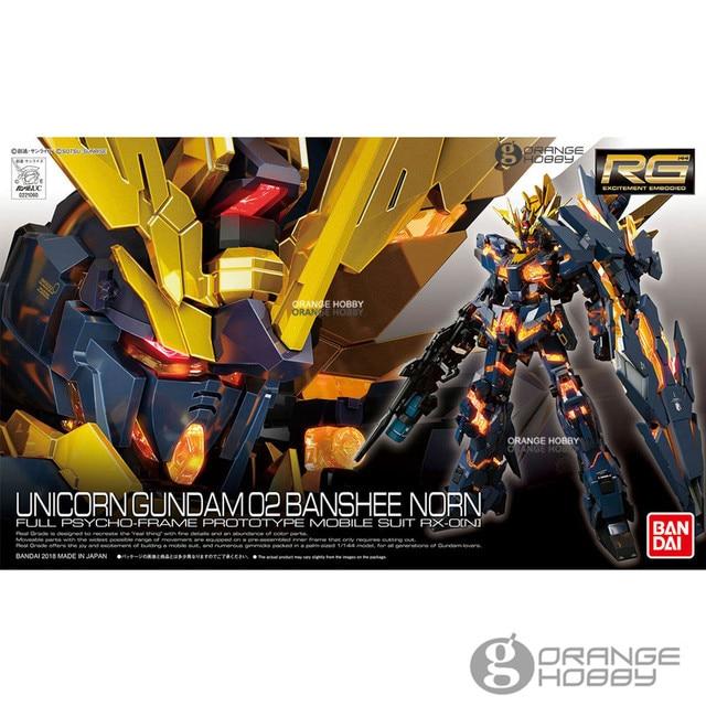 f2b5884ab007 OHS Bandai RG 27 1 144 Unicorn Gundam 02 Banshee Norn RX-0 Full  Psycho-Frame Mobile Suit Assembly Model Kits