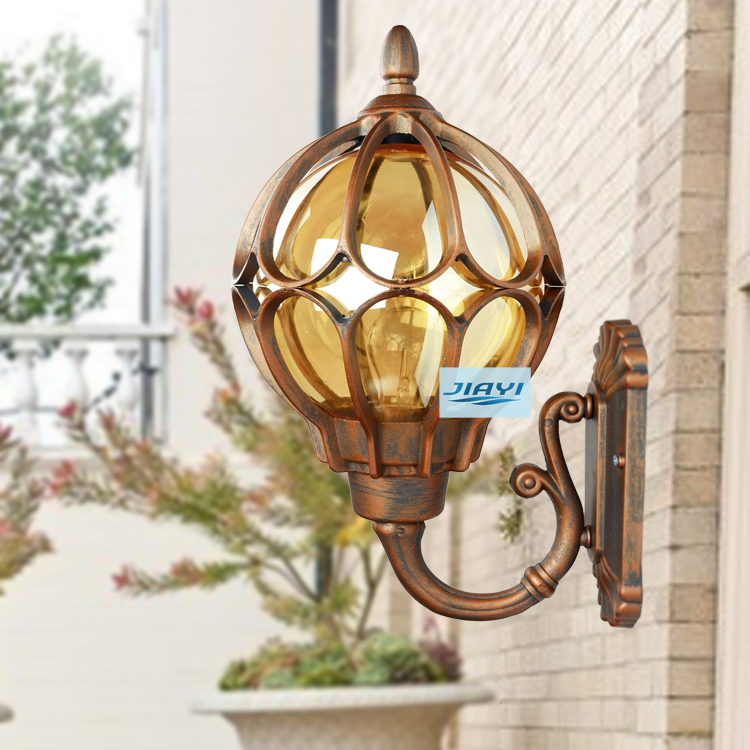 Balcony Retro Wall Mounted Sconces Aluminum E27 Exterior Light Outdoor Waterproof High End Quality