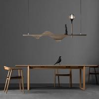 led g4 e27 Chinese Fahai Wooden Glass LED Lamp LED Light.Pendant Lights.Pendant Lamp.Pendant light For Dinning Room Corridor