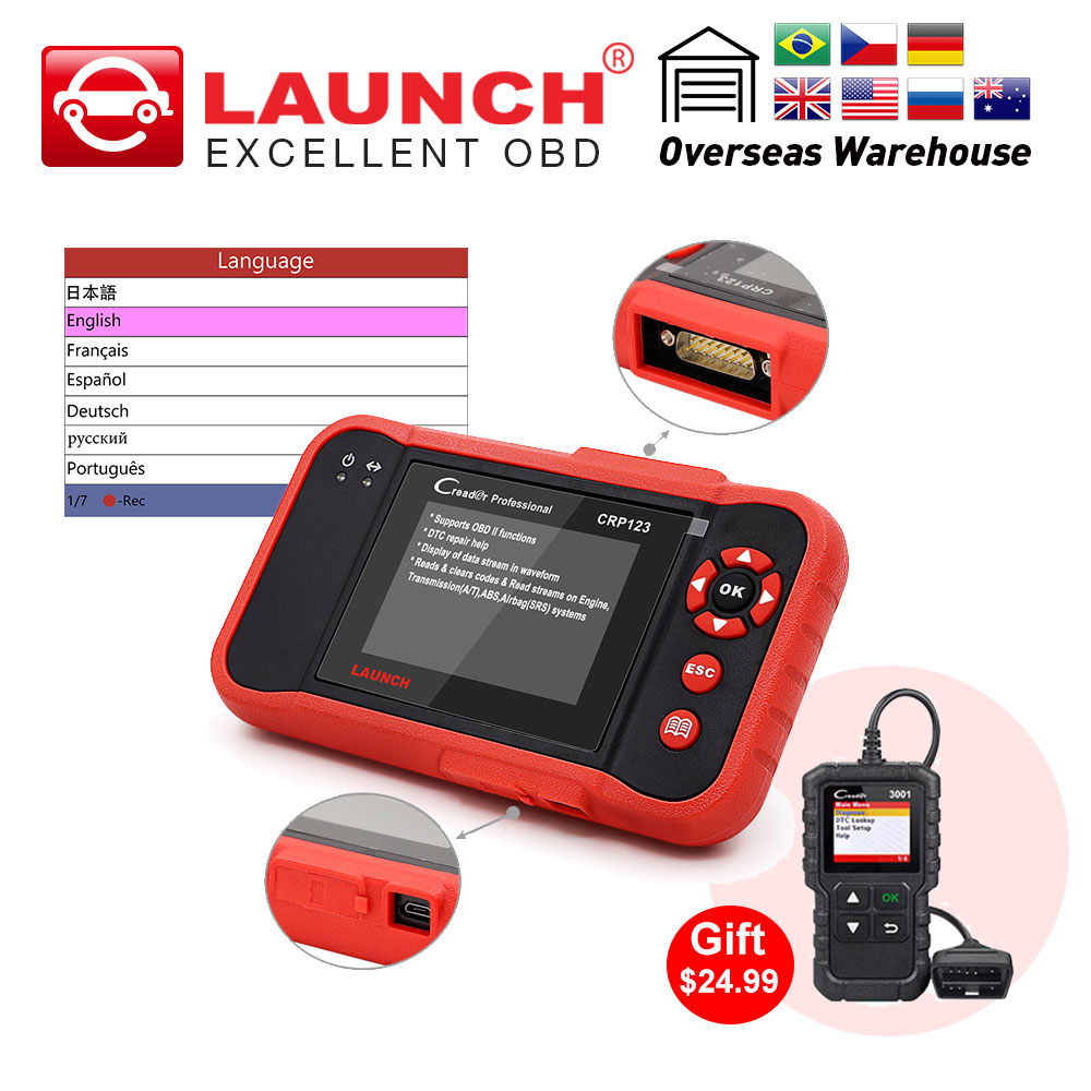 Back To Search Resultsautomobiles & Motorcycles Liberal Launch X431 Creader Crp123 Abs/srs/gearbox/engine Obd2 Scanner Support Full Obd2/eobd Free Update Online Auto Diagnostic Tool Nourishing The Kidneys Relieving Rheumatism