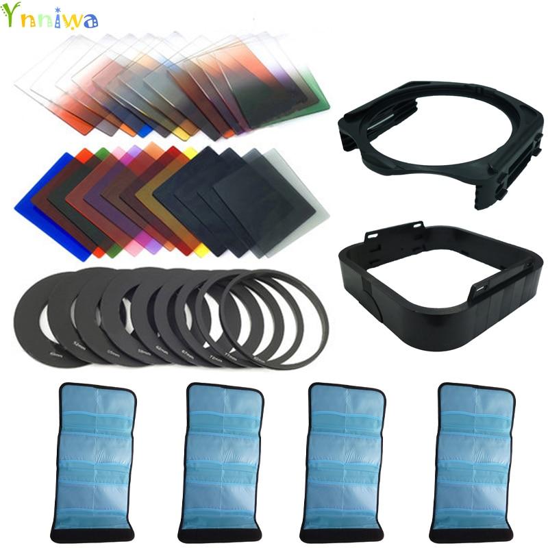 39 in1 24Color Filter + 4 Cases + 9 Ring Adapter + Halter + - Kamera und Foto