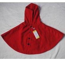 цены на 2017 winter spring fashion kids baby cape pattern black red cotton hooded plaid girls Coat jackets baby girl cape cloaks clothes  в интернет-магазинах