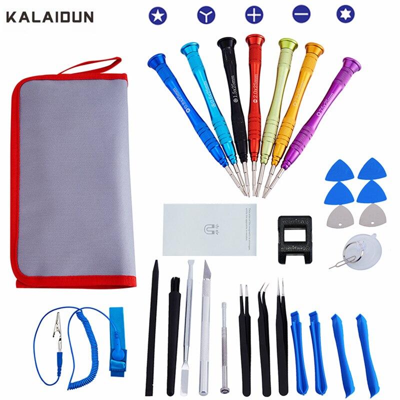 KALAIDUN 30 IN 1 Precision Screwdriver Set Torx Screwdriver hand tools for Phones Electronics Tablet PC Repair Tool kit