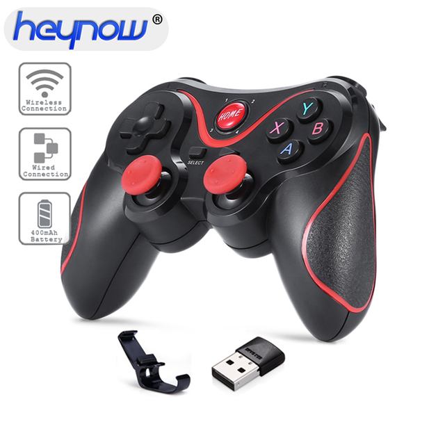 US $13 58 20% OFF|Wireless Bluetooth Gamepad X3 Game Controller For  iphone/ipad Android Box Smart Phone For PC Laptop Gaming Remote Control-in