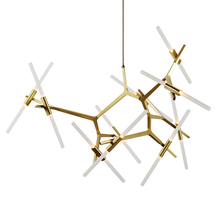 Фотография Modern Minimalist Decoration Branch Nordic Agnes LED Chandelier light with G9 LED 6 8 10 14 20 26 head with EMS DHL Express
