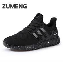 2017 printemps hommes chaussures tenis masculino noir d'été respirant hommes chaussures air mesh chaussures de sport pour adultes de mode de lumière poids