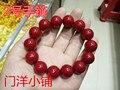 Chinesischen Bernstein bienenwachs armband Elastische Armband Frau armreif