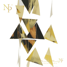 Nicro 3M Gold Triangles Garland Christmas Wall Hanging Foil String Ornaments Curtain for New Year Noel Wedding Decor Epiphany