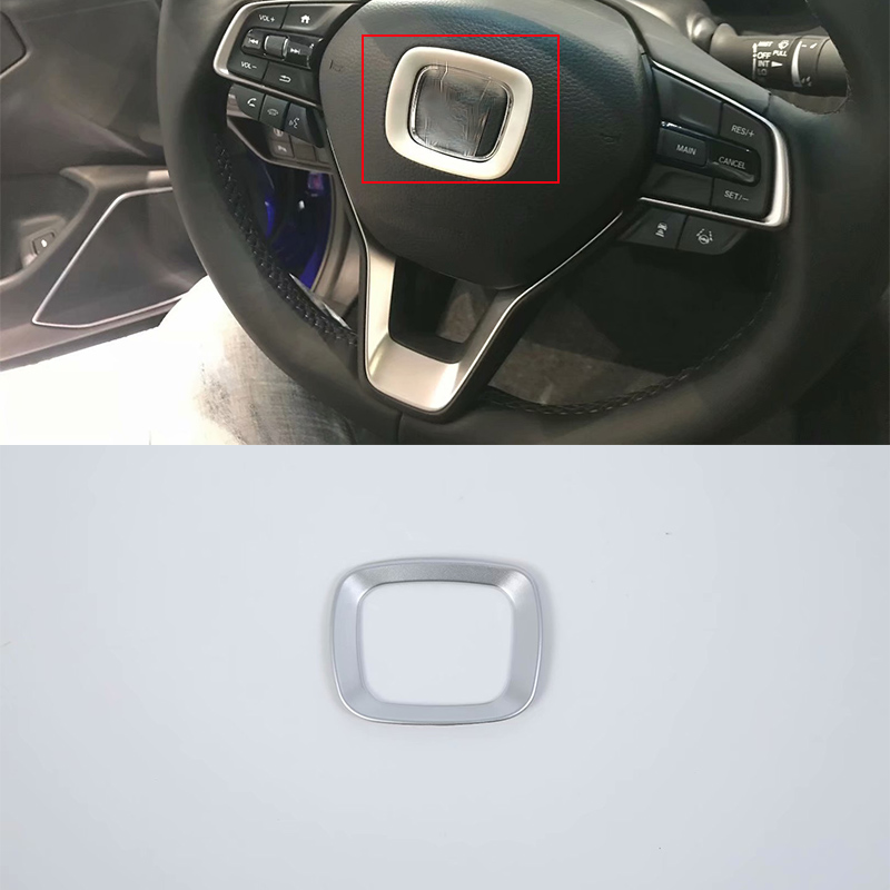 Car Body headlight steering wheel Decoration Trim 1pcs Styling accessories For HONDA ACCORD 2018
