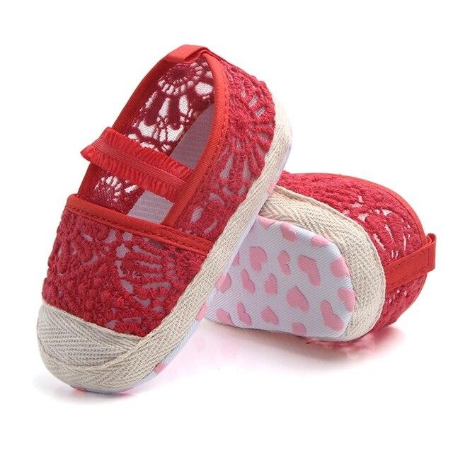 Mocasines zapatos princesa bebé, niñas primeros pasos recién nacido.
