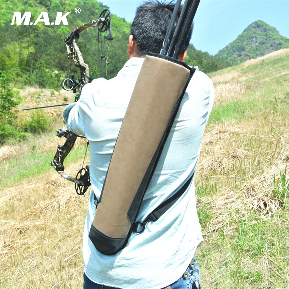 Pure Leather Arrow Bag 58x13 cm Super Fiber Arrow Quiver to Hold Arrows for Outdoor Archery Bow Hunting Shooting arrow quiver can hold 24pcs arrows hunting archery quiver compound bow arrow quiver recurve bow arrow bag outdoor shooting