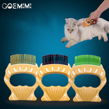 Pet Grooming Comb For Cats shell Dog Hair Trimmer For Long Hair Pets Pin Teeth Brush Combs Cat Slicker Pet Supplies pet hair deshedding dog cat brush comb sticky hair gloves hair fur cleaning for sofa bed clothe pets dogs cats cleaning tools