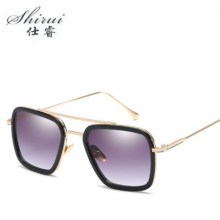 Men Vintage Steampunk Sunglasses Brand Designer Man Goggles Retro Windproof Steam Punk Sun Glasses UV400 Oculos De Sol