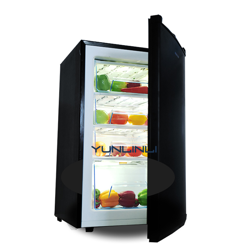 все цены на Household/Commercial Small-sized Freezer Vertical-type Mini Refrigerator Low Noise Small Size Freezer BD-102 онлайн