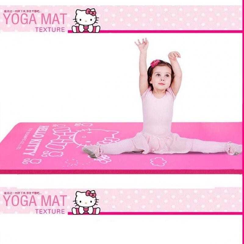 Hello Kitty Yoga Mat Rugs Non-Slip Carpet for Home Living Room Baby Girls Kids Room Absorbent Mats