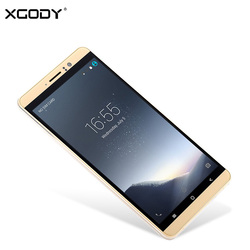 In Stock XGODY 3G Unlock Dual Sim Smartphone 6 Inch IPS Screen Quad Core 1G RAM 8G ROM Mobile Phone Android 5.1 2200mAh WiFi GPS