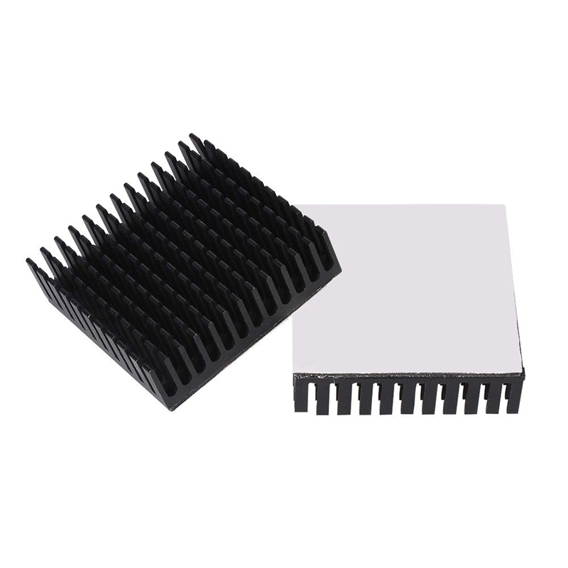 Image 3 - 40x40x10mm Black Radiator Aluminum Heatsink Extruded Profile Heat Dissipation Electronic,3d Printer Part (Pack Of 4)-in 3D Printer Parts & Accessories from Computer & Office