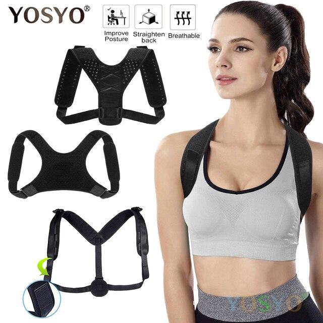 Posture Corrector Adjustable Upper Back Shoulder Brace Clavicle Support Best Brace Women Men Universal Drop Shipping