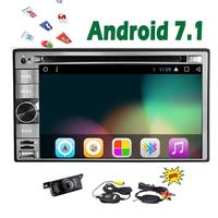 New Universal Double 2 Din Android 7 1 Car Audio Stereo In Dash DVD Video Player